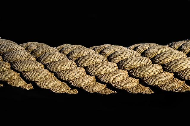 pletené lano