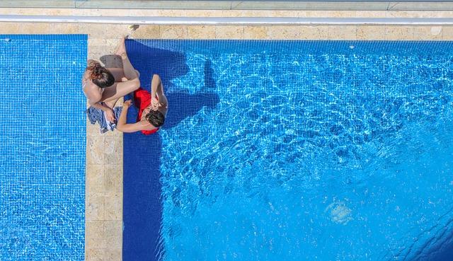 bazén shora
