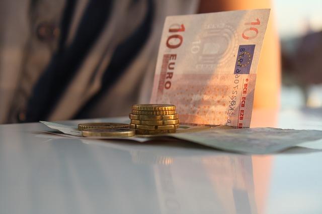 eura na stole