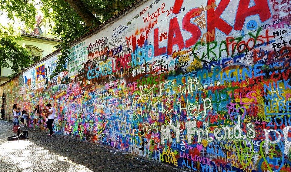 pražské graffitti